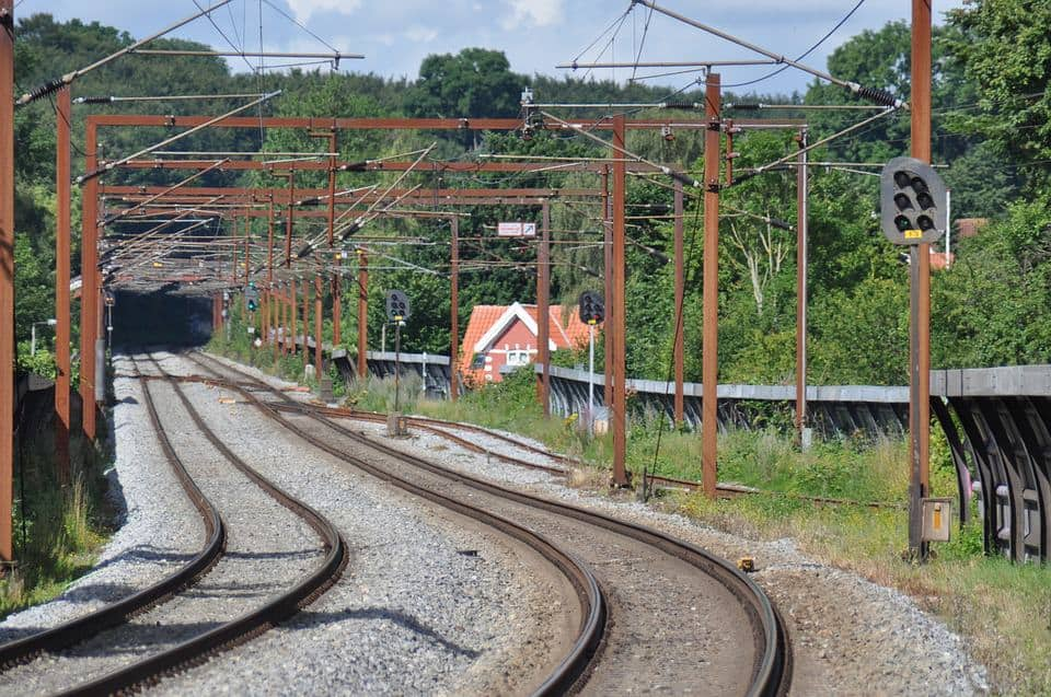 Romania has an extensive rail network