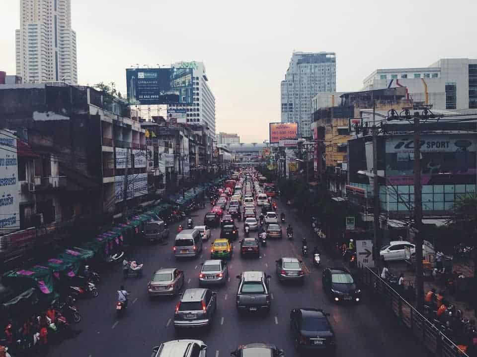 Oriental Traffic Jam