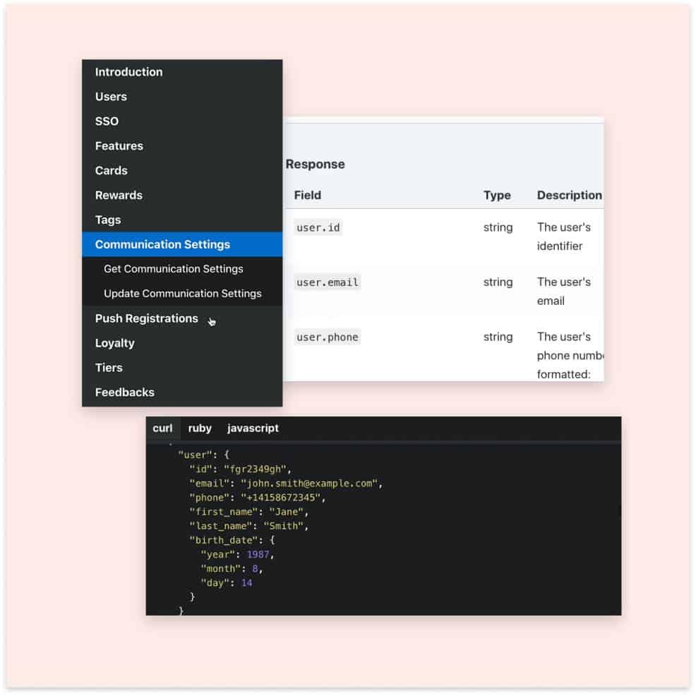 Open platform and APIs screenshots