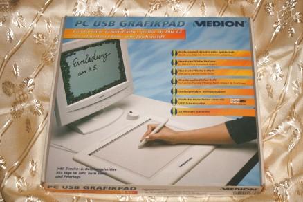 Medion PC USB Grafikpad MD9570