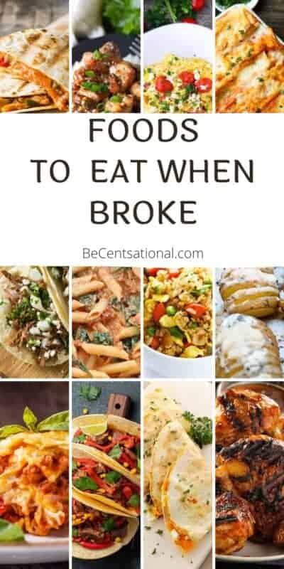 food to eat when broke