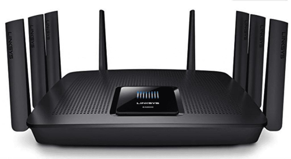 Linksys EA9500 Tri-Band Wireless Router 1 - BillLentis.com