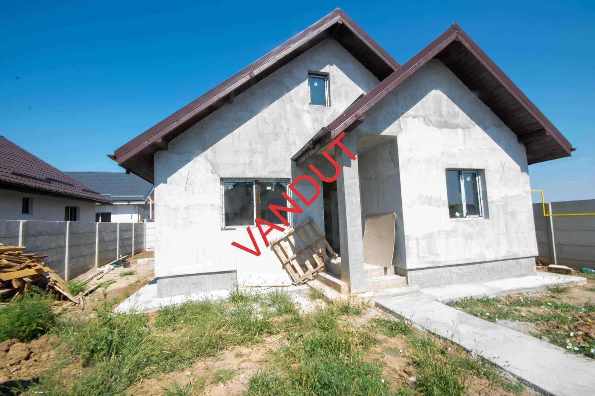 Casa Parter 98 mp + Pod MANSARDABIL – Zona Pantelimon – Dobroesti