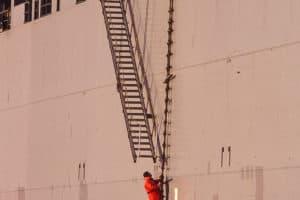 Pilot on the Ladder