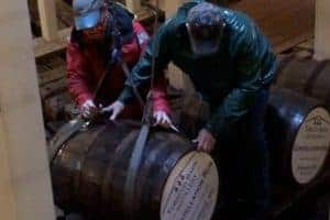 VIDEO: Rum Aged in Belly of USS Constellation Helps Keep Ship Afloat