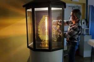 Piney Point Lighthouse  $30K Replica Lens Now on Display