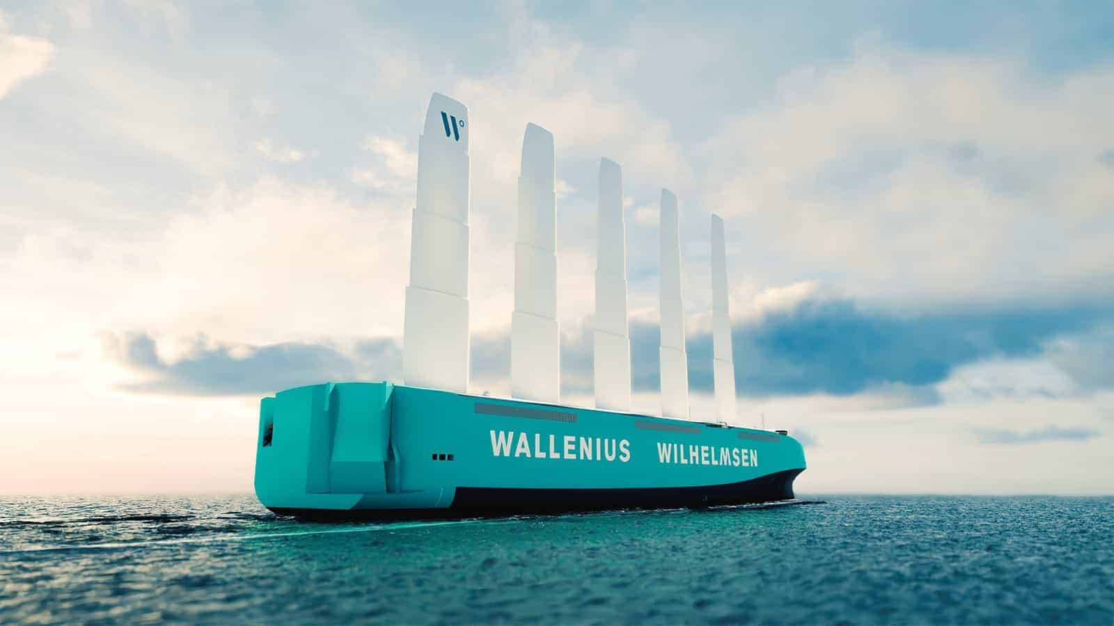 Shipping Carrier Serving Port of Baltimore Announces Wind-Powered Car Carrier Ship