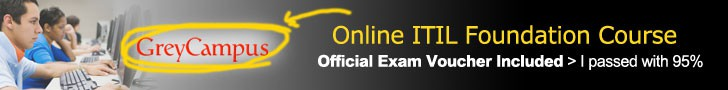 recommended ITIL Foundation Exam course