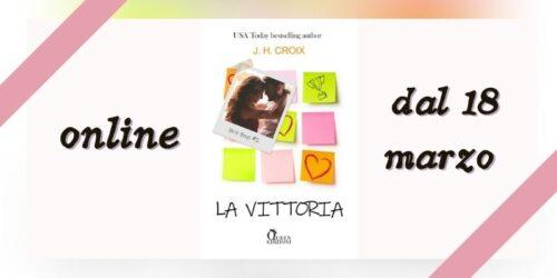 Cover reveal | La vittoria di JH Croix