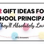 12 Gift Ideas for School Principals They'll Absolutely Love with colorful pom pom banner