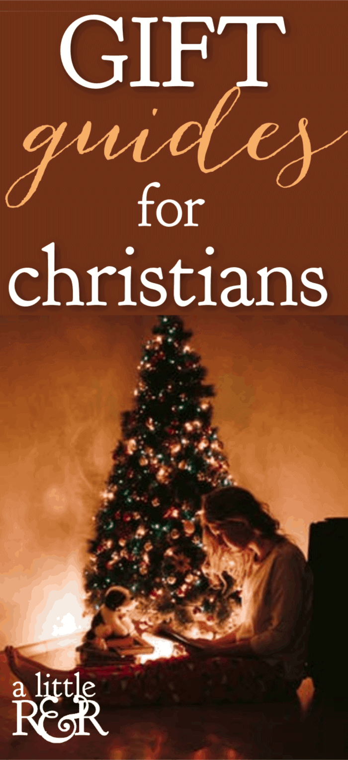 Here are gift guides for Christians filled with meaningful gift ideas that will remind your loved one of how much you love them each time they see it. #alittlerandr #gifts #giftguides #Christmas #christians via @alittlerandr