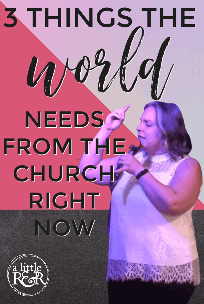 There are three things the world needs from the church, as an Esther, at this time of chaos, destruction, confusion and intimidation. #alittlerandr #covid #blacklivesmatter #blm #riots #church #bible  via @alittlerandr