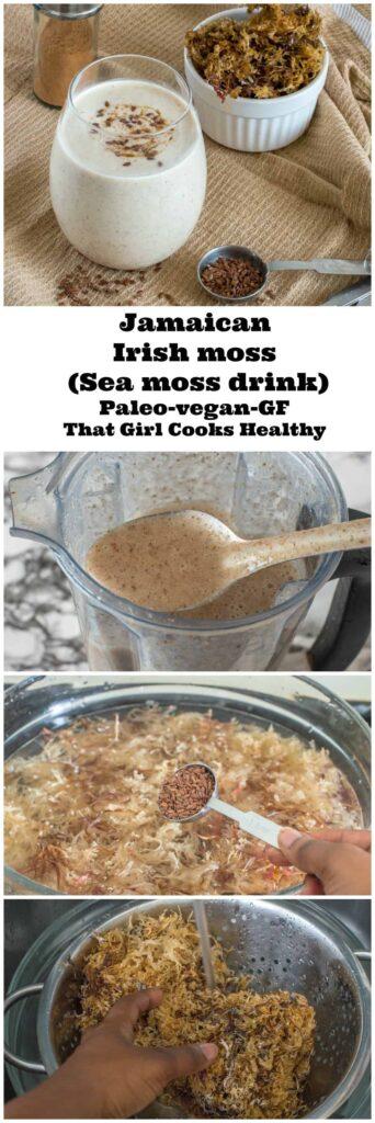 sea moss drink vegan style Jamaican beverage