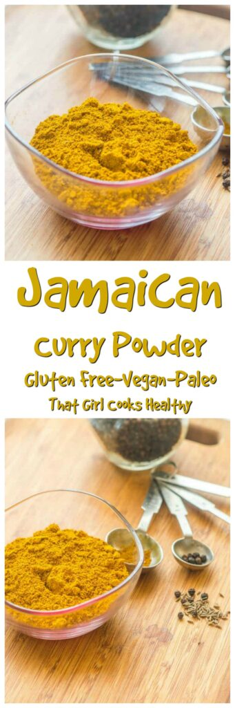 Learn how to make Jamaican curry powder within 10 minutes
