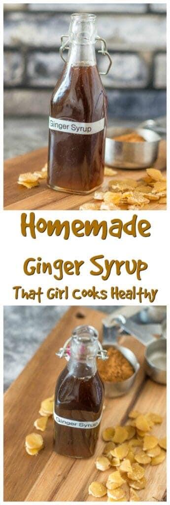 Ginger syrup pin
