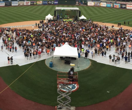 Concerts on Baseball Fields