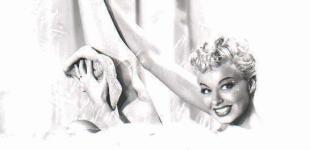 Lili St Cyr takes a bath