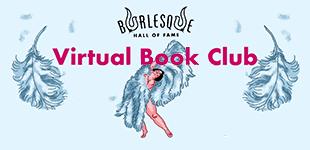 BHoF Virtual Book Club; image shows an illustrated fan dancer