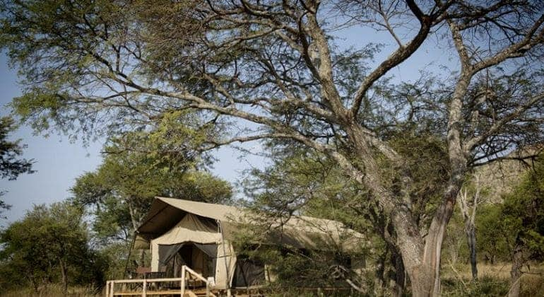 Dunia Camp Tent Exterior