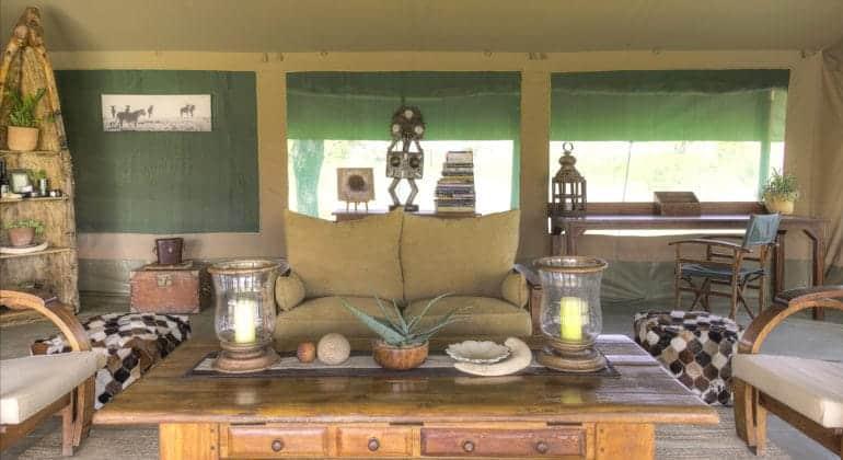 Kicheche Bush Camp Lounge