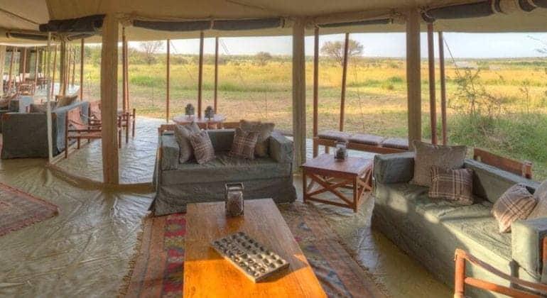 Olakira Camp Lounge