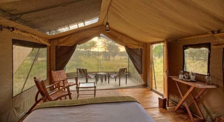 Olakira Camp Tent Interiors 1