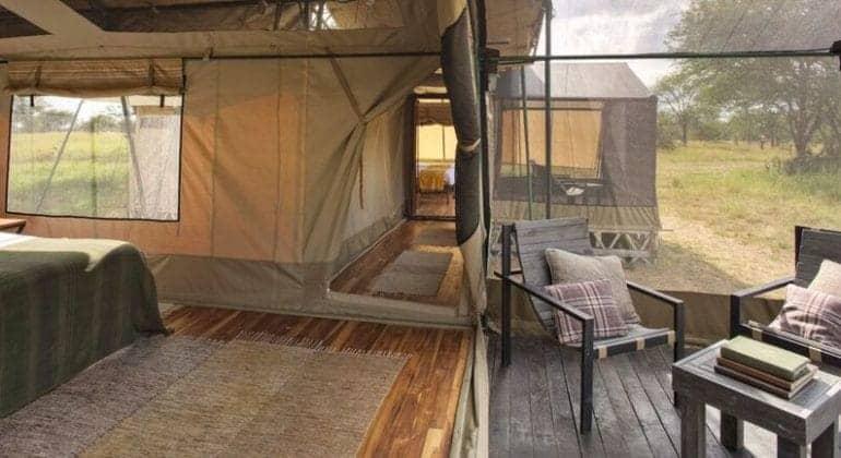 Olakira Camp Tent View