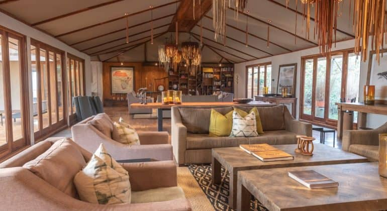 Sayari Camp Lounge Area