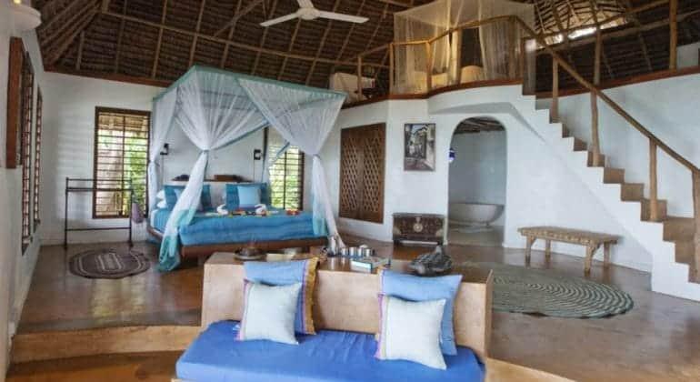 Matemwe Lodge Bedroom