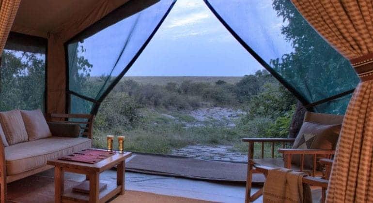 Rekero Camp View