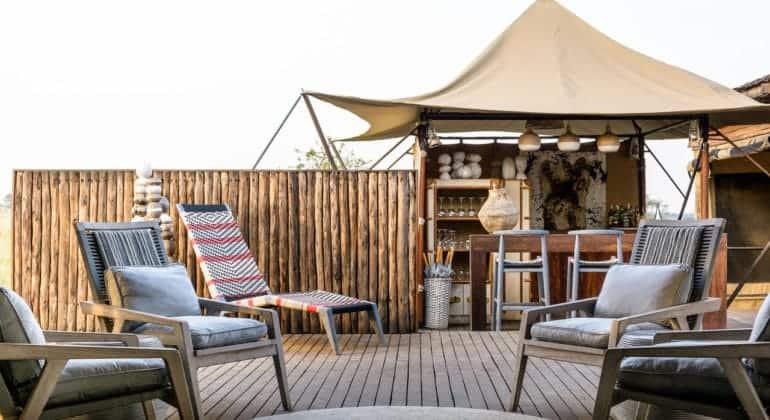Mara River Tented Camp Guest Area