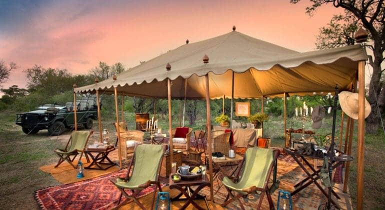 Tanda Tula Field Camp Lounge