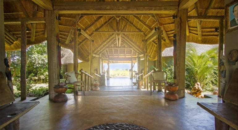 Ngoma Safari Lodge Entrance