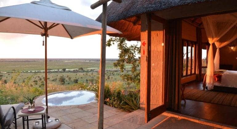 Ngoma Safari Lodge Private Pool