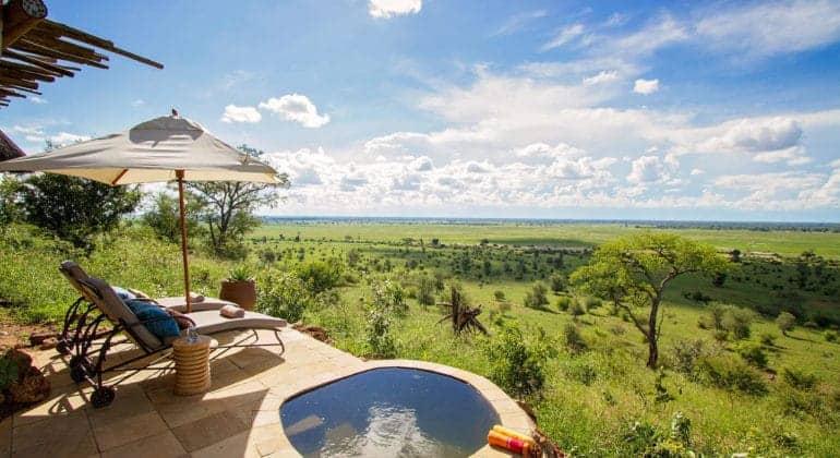 Ngoma Safari Lodge View From Room