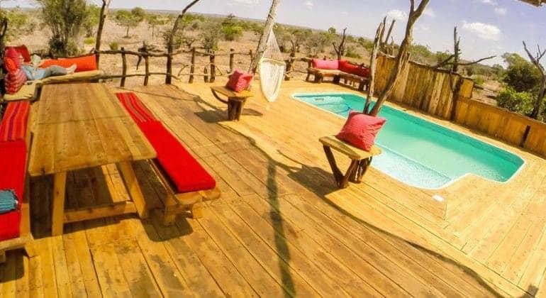 Ekorian's Mugie Camp Poolside