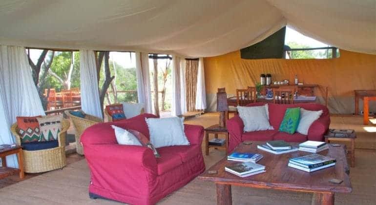 Ekorian's Mugie Camp Sitting Room