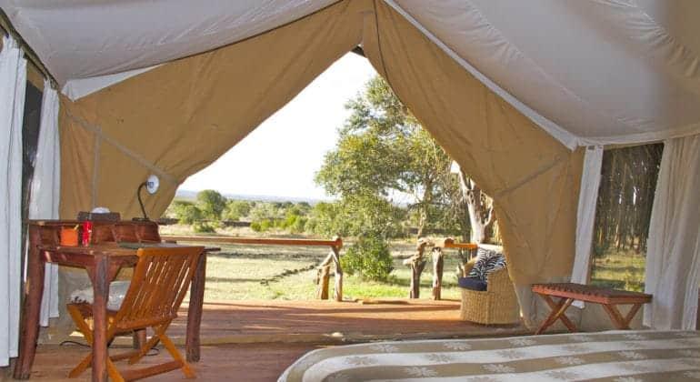 Ekorian's Mugie Camp Tent Interior