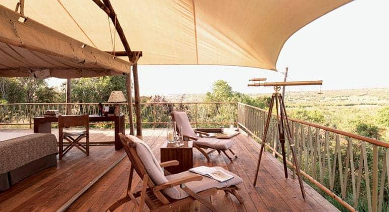 Mara Bushtops Deck