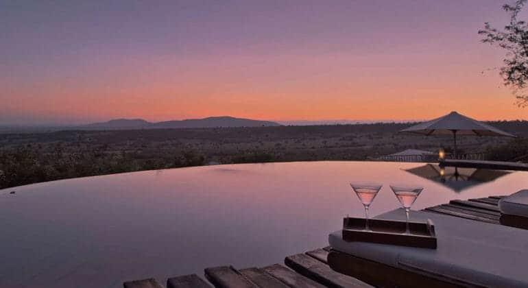 Mara Bushtops Swimming Pool
