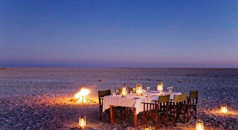 Camp Kalahari Outdoor Dining