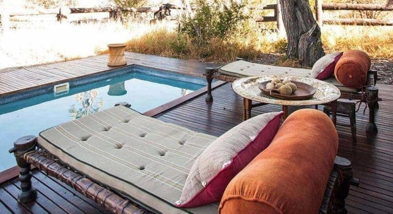 Camp Kalahari Poolside
