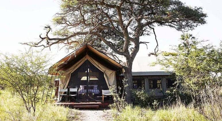 Camp Kalahari Tent