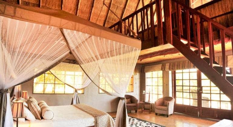 Kafunta River Lodge Suite Interiors