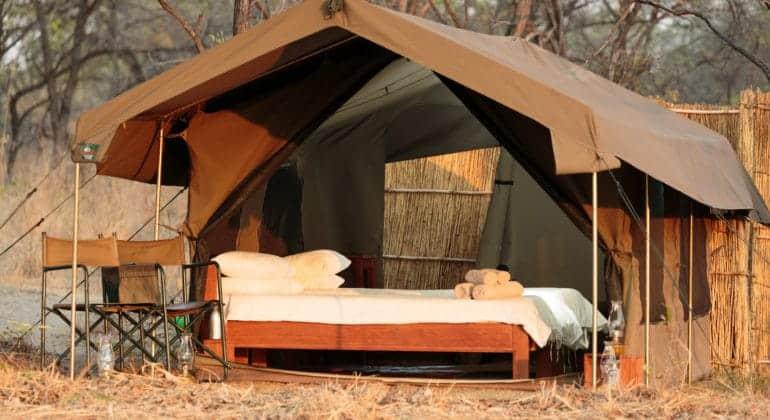 Nkonzi Bush Camp Tent