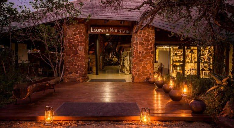 Leopard Mountain Lodge Main Lodge Entrance