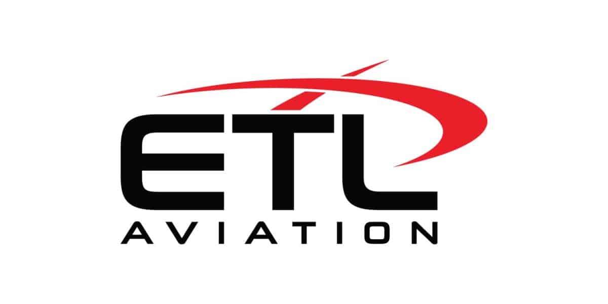 ETL Aviation helicopter flight training school logo