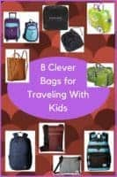 These 8 weekend bags, carry-ons, backpacks and tote bags work especially well when you're traveling with kids #luggage #carryon #backpack #tote #accessories #travel #kids #mom #roundup #review