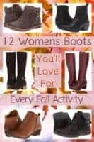12 womens boots: ankle boots, tall boots, shoeties and more that are trending this fall. They'll keep you comfortable and looking good during all the season's activities. #boots #women #fall #trends