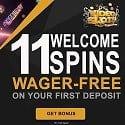 Video Slots Casino $200 bonus and 11 free spins